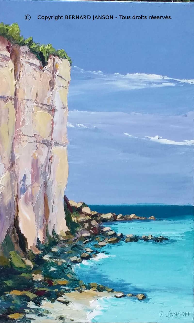 La Mer Tableaux Au Couteau Par Bernard Janson Artiste Peintre Francais Contemporain