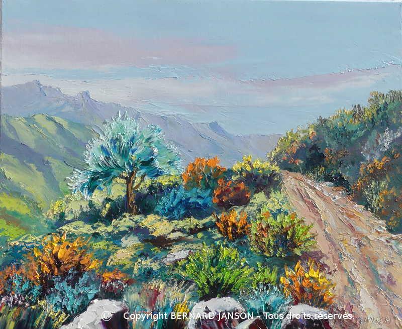 Tableaux Peintures De Paysages Grandioses Et Scenes De Vie De La Montagne